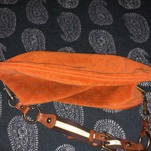 Louis Vuitton Bags - Louis Vuitton Monogram Orange Suede Onatah Bag